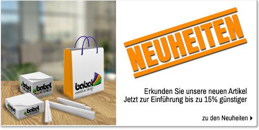 Babel-Onlinedruck Neuheiten
